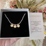 collar perlas letras especiales